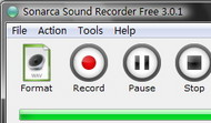 Sonarca Sound Recorder Free screenshot